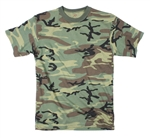 Military Camouflage T-shirt